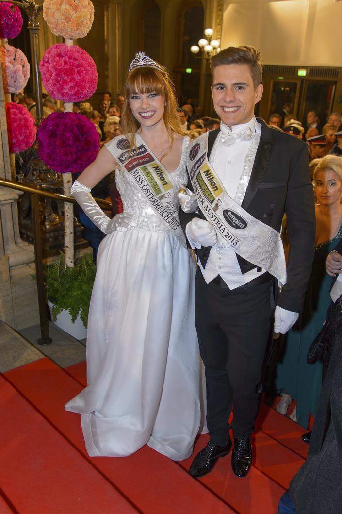 A fiatalember is 2013-ban nyerte el a Mister Austria címet (AFP)