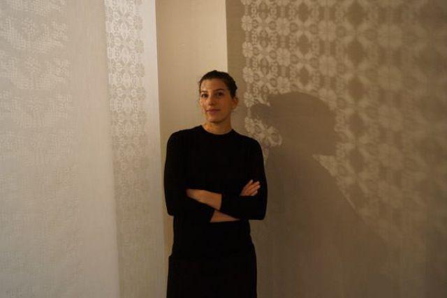 Szirmay Zsanett, a Soundweaving tervezője - Fotó: Fövényi Sándor