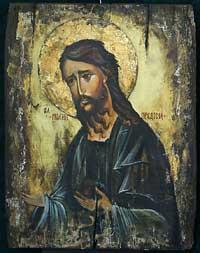 Agárdy Gábor Keresztelő János ikonja