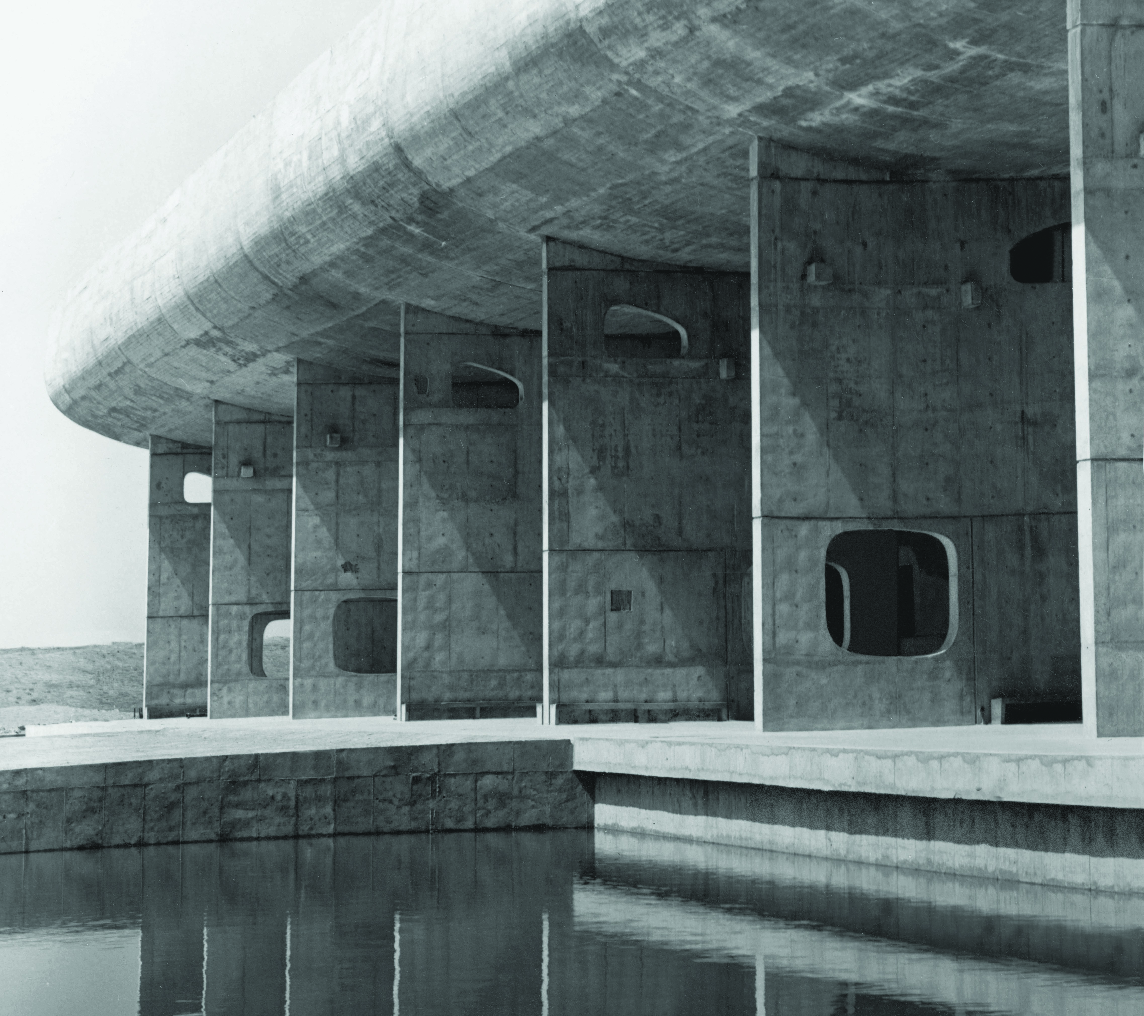 Assembly Building, Chandigarh, India (Le Corbusier, 1962)