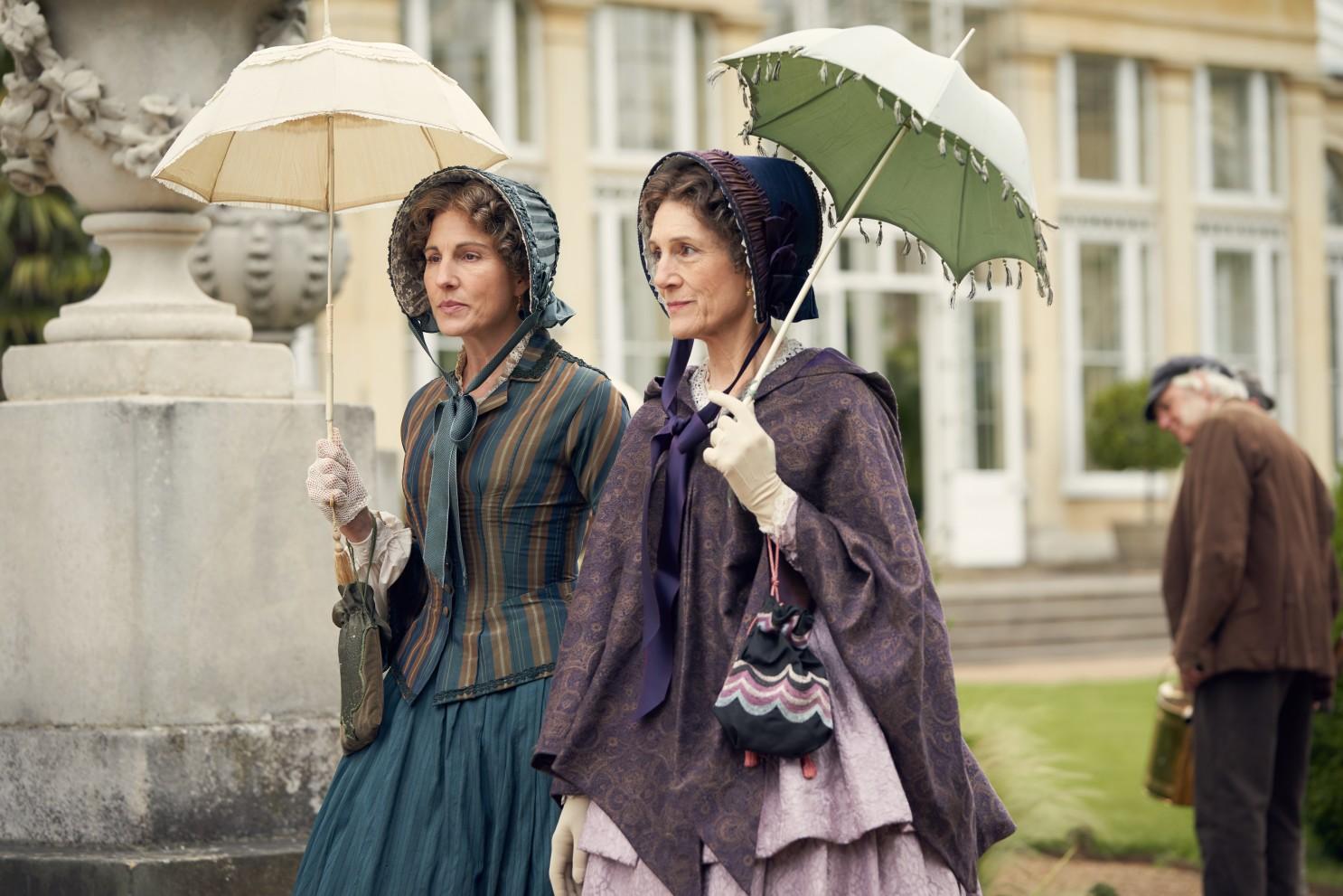 Jelenet a sorozatból: Anne Trenchard és Brockenhurst grófnő
