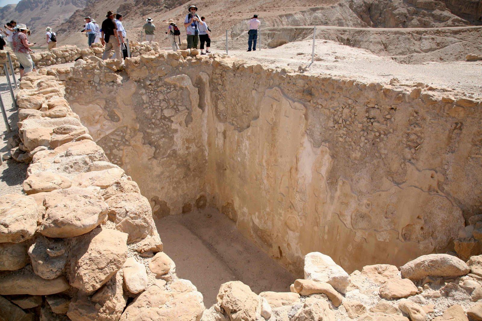 Heródes jerikói palotájának maradványai