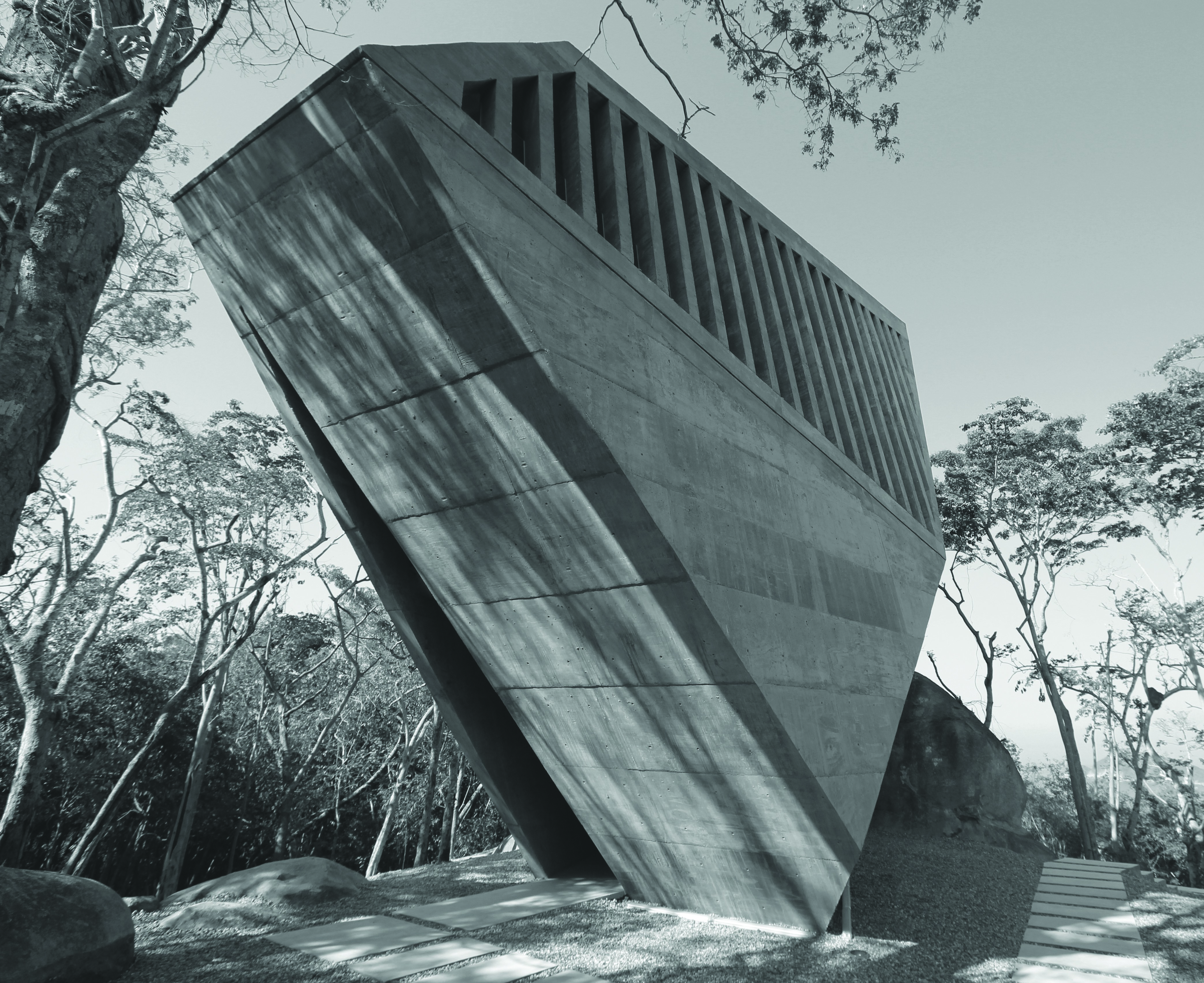 Naplemente Kápolna, Acapulco, Mexikó (Bunker Arquitectura, 2011)