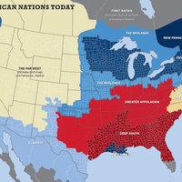 USA: 50 állam helyett 11 nemzet