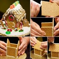 Napi karácsonyi tipp 32. Házikó kekszből