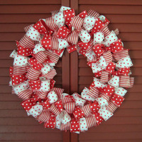 Napi karácsonyi tipp 24. Csupa masni koszorú