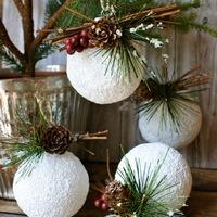 Napi karácsonyi tipp 30. Gyors, dekoratív hógolyó, ami nem olvad el