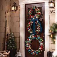 Napi karácsonyi tipp 33. 10 ajtódekoráció