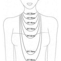 A nyakláncok hosszúsága