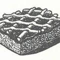 Dédnagyik trükkjei: Kakaós linzerszeletek