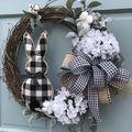 Tucatnyi ötlet húsvéti ajtódíszre