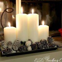 Karácsonyi készülődés 2017: Adventi koszorúk 2. rész