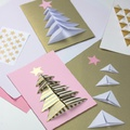40+ karácsonyi képeslap, amit otthon is elkészíthetünk