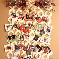 Napi karácsonyi tipp 31. Karácsonyra hangolt fali fényképtartó