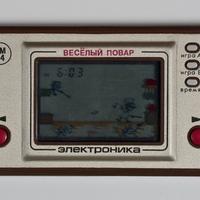 Электроника веселый повар и 24-01 игра на экране - Elektronika orosz/szovjet kvarcjátékok