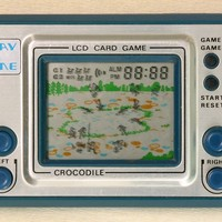 Timestar Crocodile Play & Time LCD Card Game