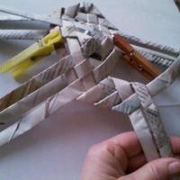 brekkencs pajtás,hogyan készítsünk papírfonással békát 2.