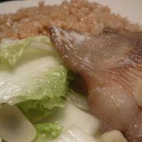 kínai kel gyömbéres, fokhagymás halfilével 200-ért (kalóriában)