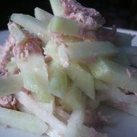karalábé tonhallal   186 kcal