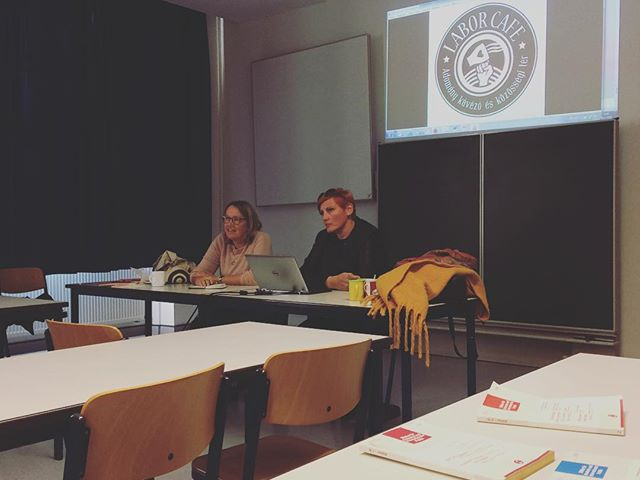 Labor Café as a best practice in Munich, at the University of Applied Siences Munich. #bestpractices #laborcafe #ilovemyjob #charitycafe #lecture #socialworker