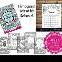 Eljészült! Már letölthető a Színezd magad kedvesre című színezőnk, most ajándék havi tervezővel. Támogass minket a megvásárlásával! http://tabulaplaza.hu/szinezd-magad-kedvesre/ - Available! Color yourself kind coloring book with free mounthly planner. Donate and download. http://tabulaplaza.hu/szinezd-magad-kedvesre/