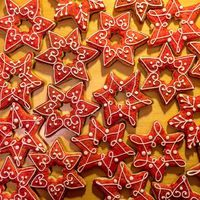 #christmas #christmascookies #honey #stars #laborcafe #charity #charitycafe #donation #love