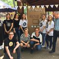 A Labor csapat bevetésen. :) #laborcafe #volunteeringisfun #charitycafe #volunteer #önkéntes #ilovemyjob #iksz #teamspirit #tribevibes