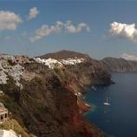Santorini, amíg a szem ellát