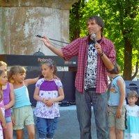Pintér Béla szabadtéri szolgálata Orosházán