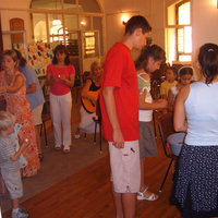 Július 22.  gyerek - istentisztelet