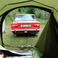 Reggeli kilátás #ladatour #lada #zsiguli #zhiguli #cccp #camping #2101