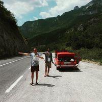 Fuel off #ladatour #lada #2101 #zsiguli #bosnia #balkan #hitchhiking #summer