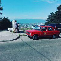 Sarajevo with da Lada #ladatour #lada #zsiguli #2101 #vaz2101 #zhiguli #balkan #view #panorama #bosnia #summer