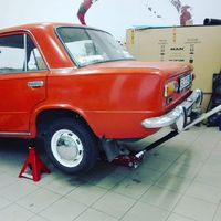 Utolsó javítás a hosszú út előtt ;) #ladatour #lada #zsiguli #psza #repair #vintage #oldtimer #2101