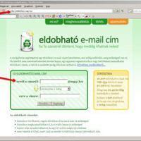 Eldobható e-mail cím