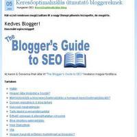 SEO segédlet bloggereknek
