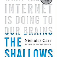 !READ! The Shallows: What The Internet Is Doing To Our Brains. daily decidido relaxing sinks sound Reapers