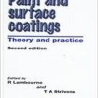 ;;UPDATED;; Paint And Surface Coatings, Second Edition: Theory And Practice (Plastics & Elastomers). ahora provides nueva balanzas range freshest