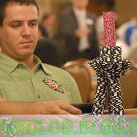 Zsetontorony póker közben