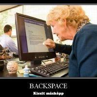 Backspace kicsit másképp