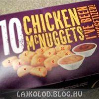 McNuggets doboz fail