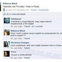 Rebecca Black és a Facebook
