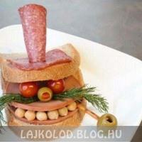 Vicces ételek (8 kép)