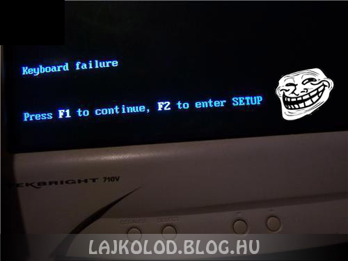Windows troll - Lájk