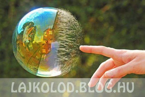 Buborék lájk