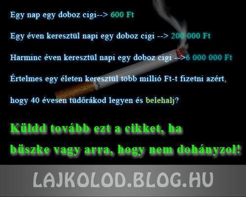 Cigi - Lájk blog