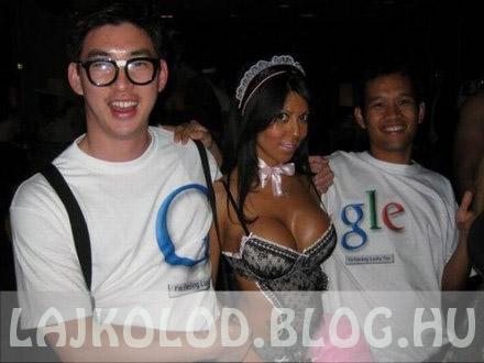 Google csaj - Lájk