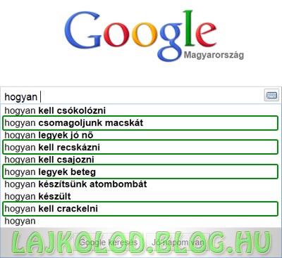 Google hogyan - Lájk