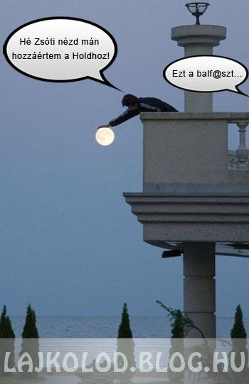 Hold simogatás lájk