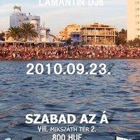 09. 23. - Szabad az Á: CHAD VALLEY + Lamantin DJk